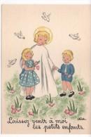 LEILA - BARRE-DAYEZ - Enfanst Et Jésus     (Prière Au Verso)   (BD 1493 L) - Künstlerkarten