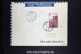 France: 1947 Air France Cachet Offiiel Paris Rome Athenes Istanbul Ankara - Luchtpost