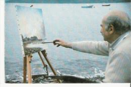 LOCQUIREC (29) MAURICE FORTIN PEINTRE LOCQUIRECOIS 27 MAI 1986 - Locquirec