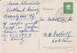 Bund Heuss Med Gzs P 49 PSt I Stempel Finthen ü Mainz 1961 - BRD