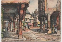 BARDAY - BARRE-DAYEZ - DINAN - Vieilles Maisons De La Rue Des Cordeliers   .. (BD 2016 B) - Autres Illustrateurs