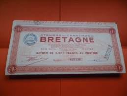 Ateliers Et Chantiers De BRETAGNE (nantes,loire Atlantique) - Shareholdings
