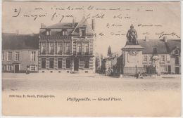 24740g GRAND'PLACE - Philippeville - 1903 - Philippeville