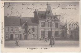 24741g  POSTE - CAFE De LA PLACE - FABRIQUE De CIGARES - Philippeville - 1903 - Philippeville