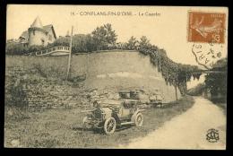 Yvelines 78 Conflans Fin D'Oise 14 Le Castelet Automobile L'Abeille - Conflans Saint Honorine