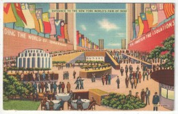 Entrance To The New York World's Fair Of 1939 - Flushing Meadows-Corona Park - Queens