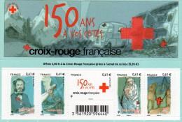 France 2014 : Feuillet N° 4910/4914** . Au Profit De La Croix Rouge. - Nuevos