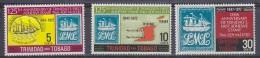 Trinidad And Tobago 1972 Stamp Anniversary 3v ** Mnh (20184) - Trinidad En Tobago (1962-...)