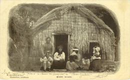 New Zealand : Maori Whare - Nouvelle-Zélande