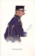 HUMOUR MILITAIRE / MILITARY HUMOR - ILLUSTRATION SIGNÉE : À IDENTIFIER ! - B.K.W.I. 389-2 / AUSTRIA ~ 1910 (r-885) - Autres Illustrateurs