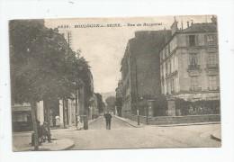 Cp , 92 , BOULOGNE SUR SEINE , Rue De BUZENVAL , écrite 1917, Ed : Malcuit - Boulogne Billancourt