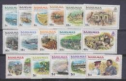 Bahamas 1980 Definitives / History 16v ** Mnh (20187) - Bahama's (1973-...)