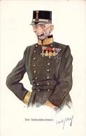 HUMOUR MILITAIRE / MILITARY HUMOR - ILLUSTRATION SIGNÉE : À IDENTIFIER ! - B.K.W.I. 389-3 / AUSTRIA ~ 1910 (r-886) - Autres Illustrateurs