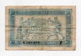 Trésorerie Aux Armées - 50 Cts - N° 0580808 - P - Treasury