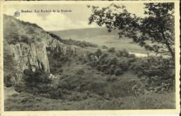 Stockay -- Les  Rochers  de  la  Boulade.  (2 scans)