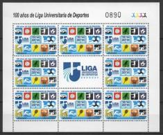 Uruguay (2014) - MS -  /  Chess - Echecs - Schach - Basketball - Volleyball - Handball - Soccer - Calcio - Tennis - Schach