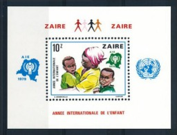 Zaire - Bloc 34 (BL34) - Année Internationale De L'enfant - 1979 - MNH - Zaïre