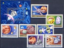 HUNGARY 1974 №2931-2938 Mars Exploration - Space