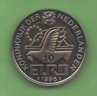 HOLANDA  - 10 EUROS 1996 - Pays-Bas