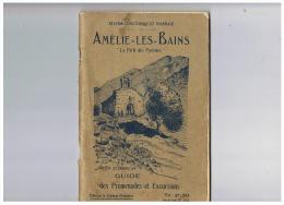 STATION CLIMATIQUE ET THERMALE AMELIS LES BAINS LA PERLE DES PYRENEES  1927 - Languedoc-Roussillon
