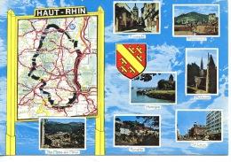 68 Haut Rhin Géographique - Multivues Bmason (n°68/224/177 La Cigogne) - Frankrijk
