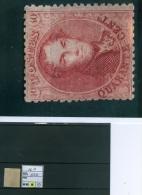 N° 16B X - 1863 - 1863-1864 Medallions (13/16)