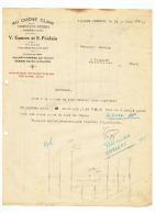 FABRIQUE DE MEUBLES  V. GUMEZ Et S. POULAIN  MAGASINS  à VILLERS CAMPEAU Et DENAIN (NORD) 1937 - France