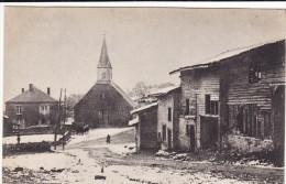 CPA 14-18 FLEVILLE (près Grandpré) - Une Rue, L´église (A98, Ww1, Wk 1) - Ohne Zuordnung