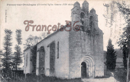 (33) Pessac Sur Dordogne - Eglise Romane - 2 SCANS - Pessac
