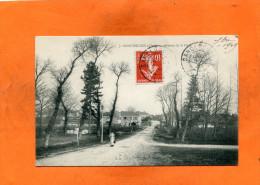 SANCERGUES    /  1910  /   AVENUE DE LA GARE     /  CIRC OUI   / EDIT - Sancergues