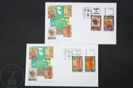 FDC Games Topic Cover - 1994 Edifil 3317 / 3320 - Card Game / Card Museum - Juegos