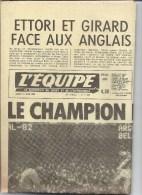 L´équipe 14 Juin 1982 Football Mondial Argentine Belgique France Angleterre - 1950 - Heute