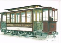28507 ( 2 Scans ) Remorque - Bijwagen 1900 - Tramways