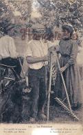 (33)  La Fenaison - Editée à Libourne - Paysans Agriculteurs Moisson -  2 SCANS - Cultures