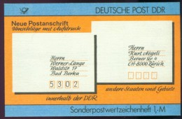 DDR SMHD 33 (gefüllt Mit 10 Mi 3156) Mh023 - [6] Democratic Republic