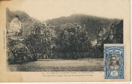 57 La Magnifique Baie Des Vierges Aux Marquises Coll. Gauthier Timbrée Non Voyagé - Tahiti
