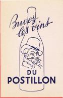BUVARD VIN LE POSTILLON - P