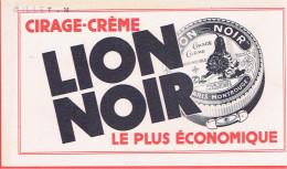 BUVARD LION NOIR CIRAGE CREME POUR CHAUSSURE PARIS MONTROUGE - L