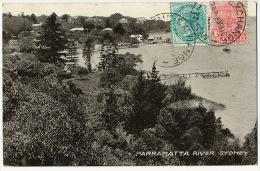 Sydney  Parramatta River  P. Used 1910 - Sydney