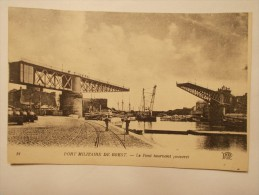 Carte Postale - BREST (29) - Le Pont Tournant (ouvert) (218/100) - Brest