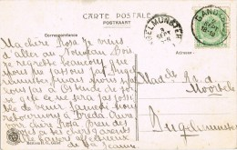 12064. Postal GAND (Belgien) 1919 A Bugelmunster. Maison De Eateliers - Bélgica