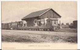 CPA Grigneville Station Du Decauville  Train Tramway 45 Loiret - Frankrijk