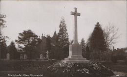 RP Matfield WAR MEMORIAL Near Brenchley By H. Camburn For T.W. Young, Matfield - Other