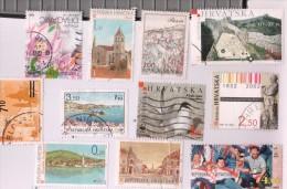 Croatia Used Stamps Lot - Croatia