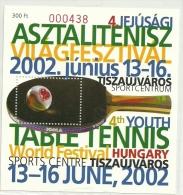 Ungarn, Block, Postfrisch - Tischtennis