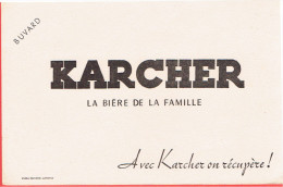 BUVARD KARCHER LA BIERE DE LA FAMILLE - Löschblätter, Heftumschläge