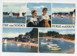 COSTUMES - AK 224307 France - Bretagne - Le Golfe De Morbihan - Ile Aux Moines - Costumes