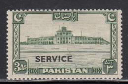 Pakistan MH Scott #O20 'Service' Overprint On 3a Karachi Airport - Pakistan