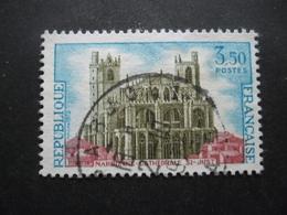 France N°1713 CATHEDRALE ST JUST De NARBONNE Oblitéré - Eglises Et Cathédrales