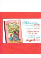 BUVARD CHOCOLAT AIGUEBELLE ALBUM LA PROMENADE ENCHANTEE - Chocolat